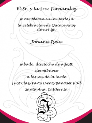 texto para invitacion formal