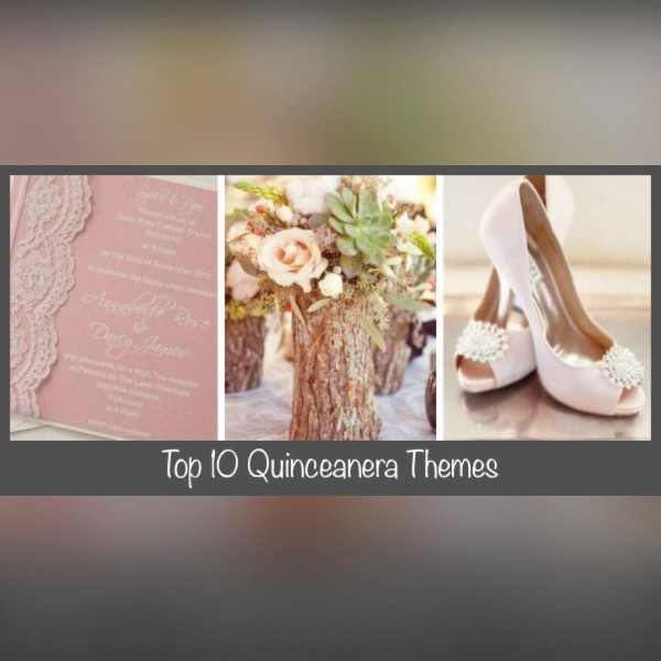The top 10 most popular themes! -----> bit.ly/xvten #quinceanera #quince #theme #partyplanning #xvtip #15años