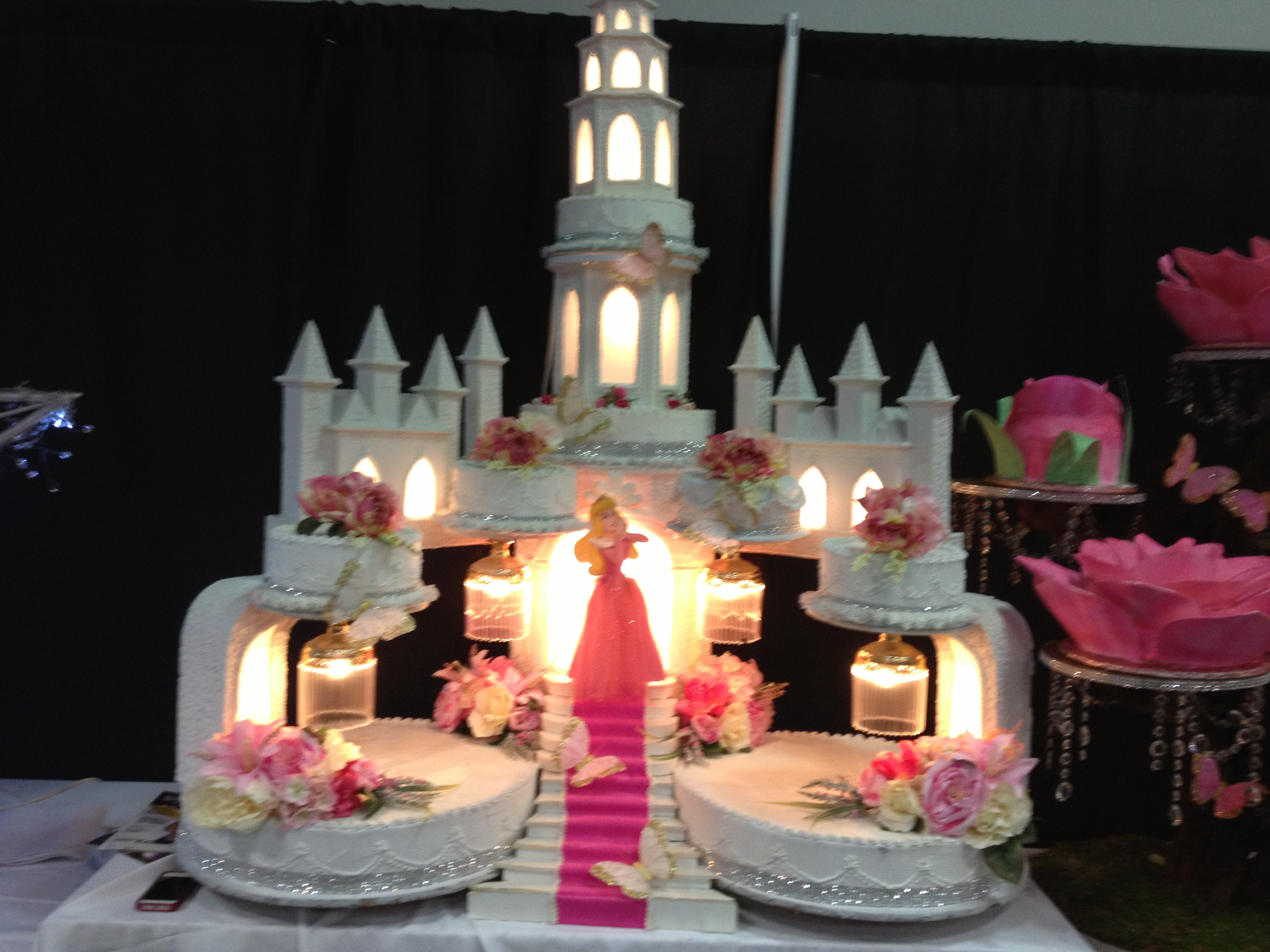 Unique Quincea Era Cakes From The Ontario Expo