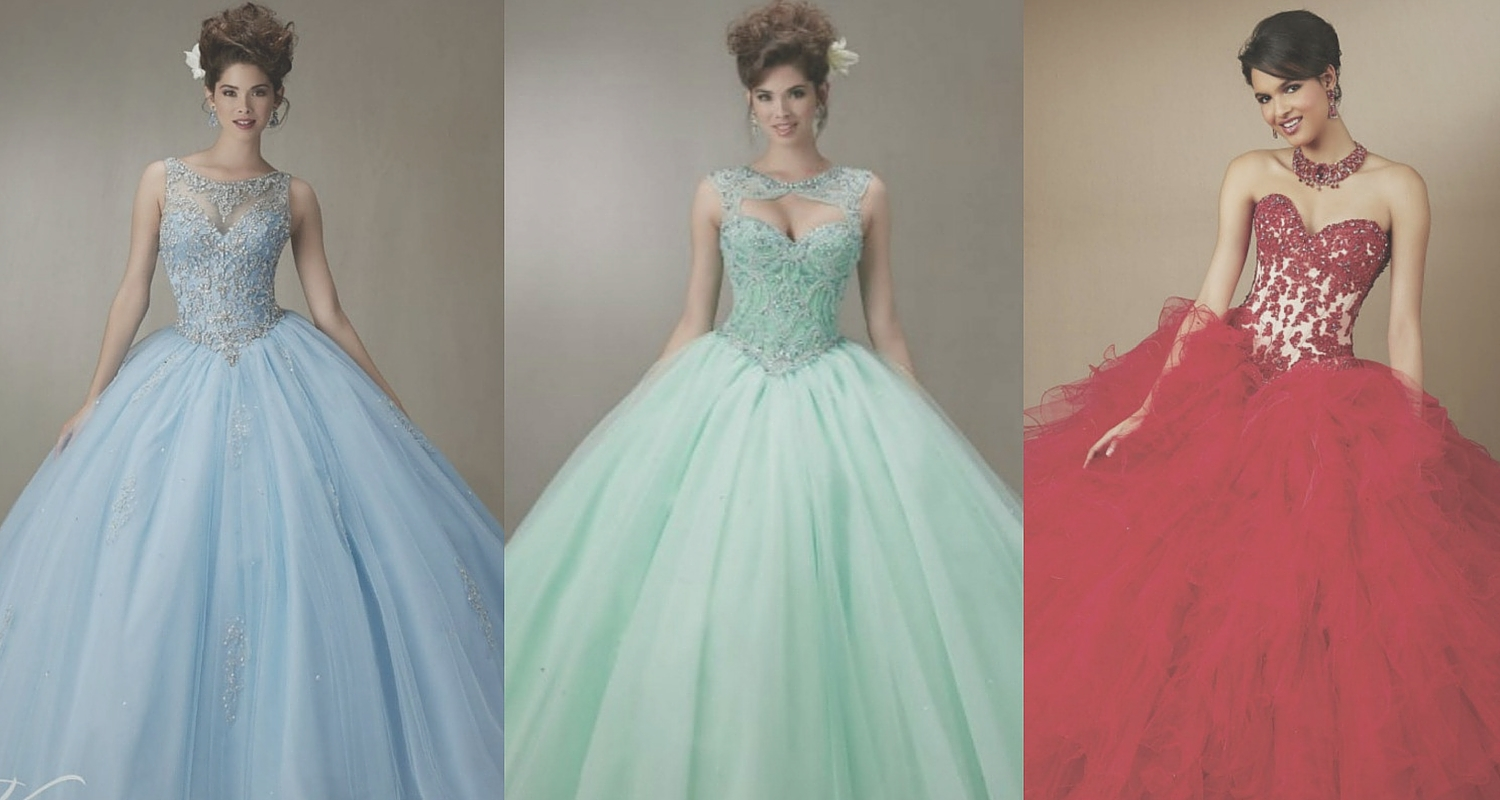Quinceanera Dresses in Your Favorite Colors