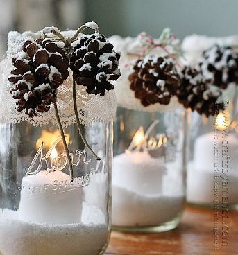 Candles as party favors