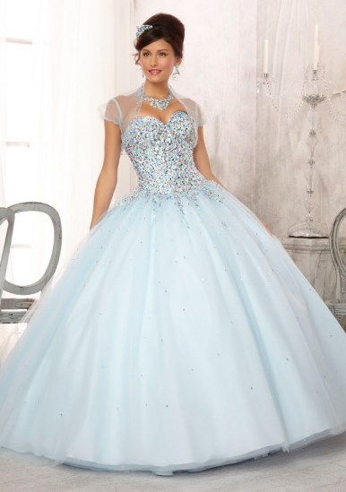 Blue Dress for your cinderella quince theme