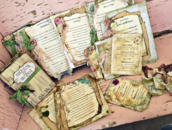 Enchanted Forest Themed Wedding Invitations: A Magical Enchanted Forest Quince