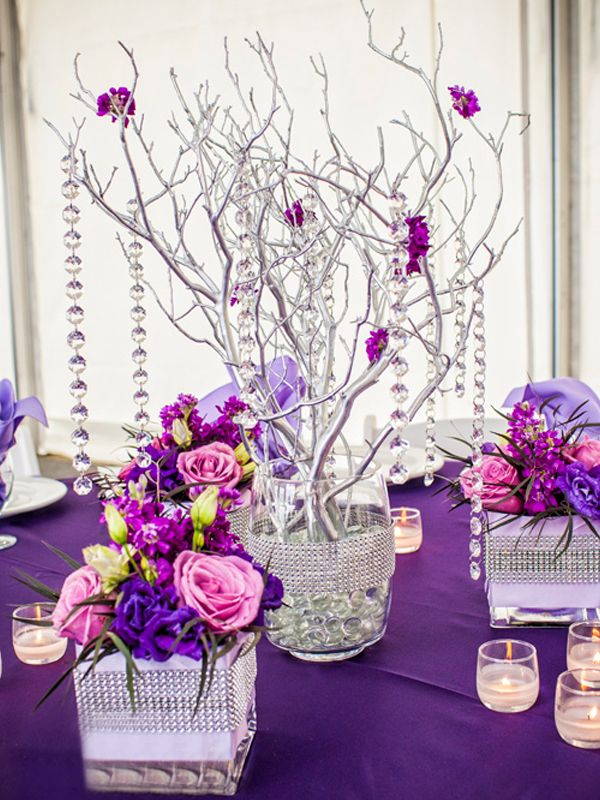 Things to add your xv centerpieces make them pop
