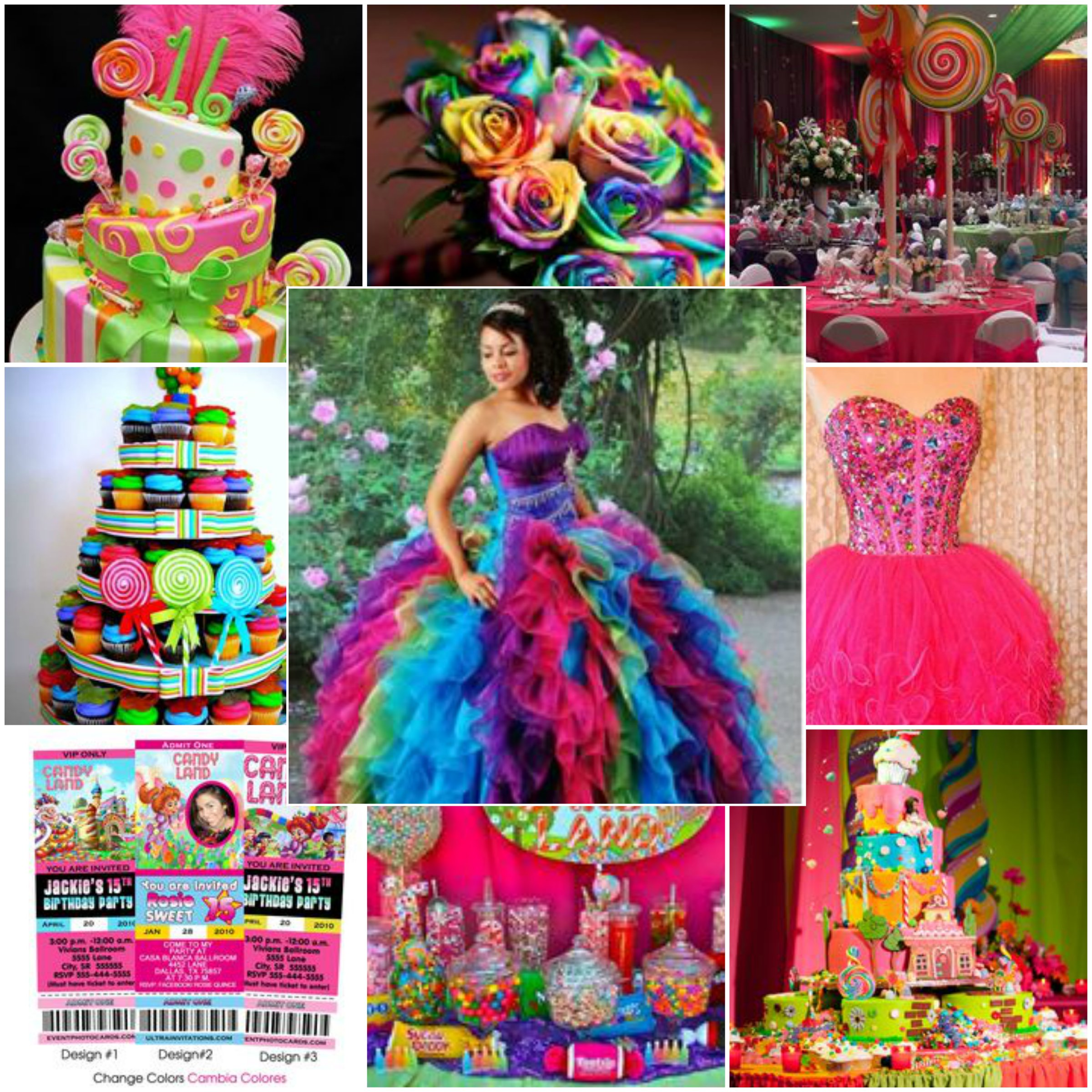 How To Plan A Candyland Quince