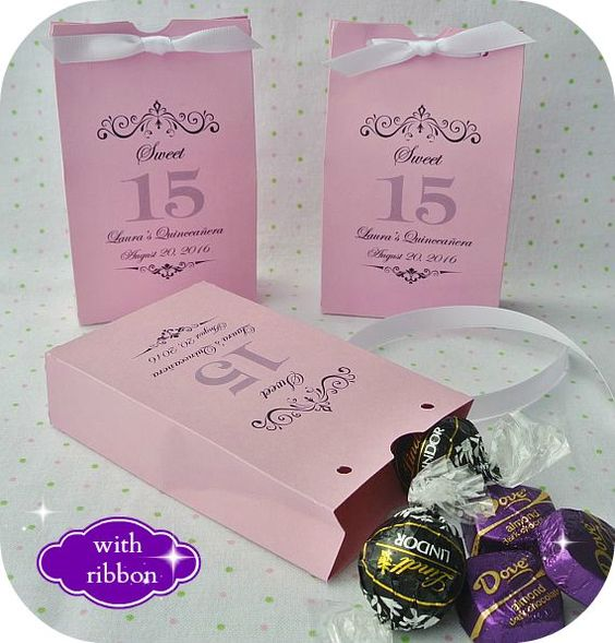 quinceanera party favors