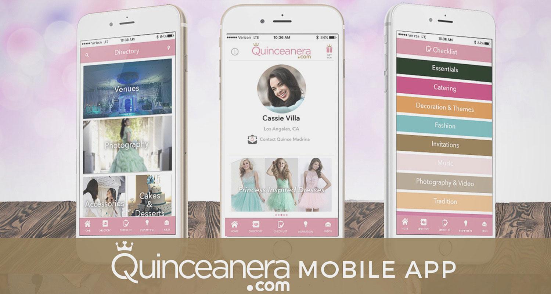 Quinceanera.com Mobile App