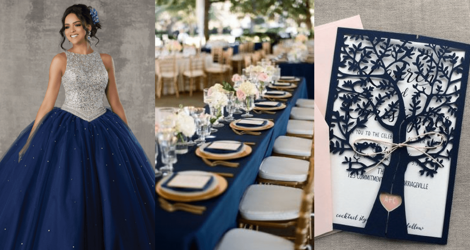 515bd1397e9 Add Blue to Your Quince Theme – 7 Stunning Combinations - Quinceanera